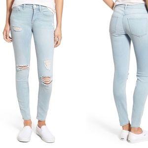 NWOT SP Black Distressed Skinny Jeans